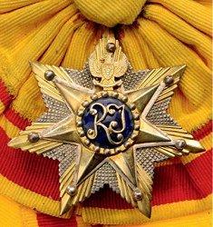 Bintang medal_close up